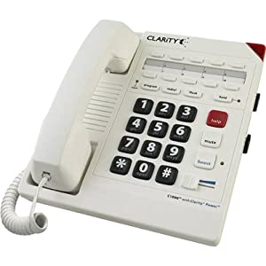 Clarity C1000 26dB Amplified Corded Telephone from Clarity