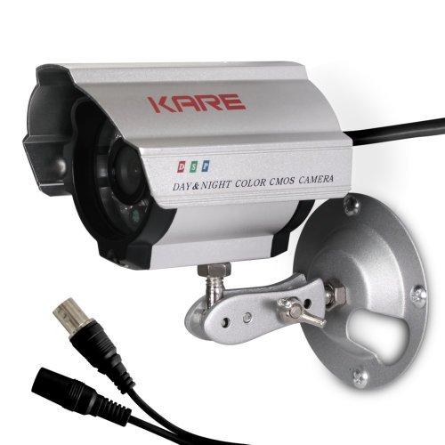 Indoor Outdoor Waterproof Color Cctv Camera Security 15M Night Vision 480 Tvl