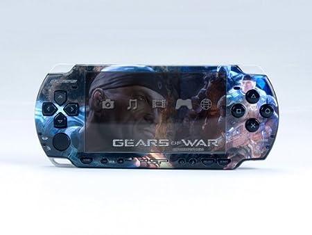 GEARS OF WAR PSP (Slim) Dual Colored Skin Sticker, PSP 2000