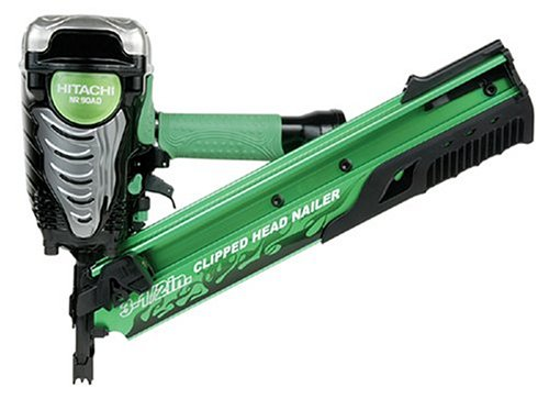 Hitachi NR90AD Clipped Head 2-Inch to 3-1/2-Inch Framing Nailer (Discontinued by Manufacturer) via Amazon
