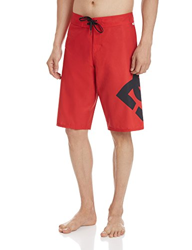 DC Shoes LANAI 22 M BDSH RQR0-Shorts Uomo    Rosso (Formula One) Medium
