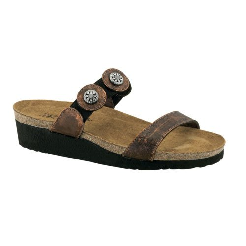 Naot Womens Marissa Slides Leather