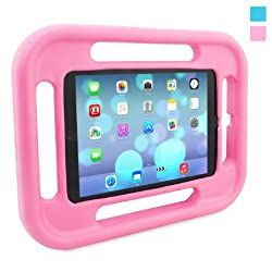 Snugg Kids iPad Air Case in Pink with Lifetime Guarantee - Shock and Drop Proof EVA case for the Apple iPad Air Case