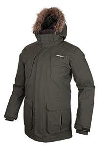 Mountain Warehouse Canyon larga para hombre de la chaqueta a prueba de agua Caqui XXX-Large