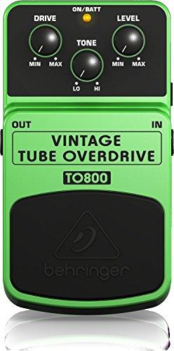 BEHRINGER VINTAGE TUBE OVERDRIVE TO800
