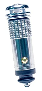 Roadpro 12V Mini Air Purifier / Ionizer, Chrome