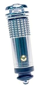 Roadpro 12V Mini Air Purifier / Ionizer, Chrome