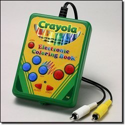 Crayola My First Electronic Coloring Book