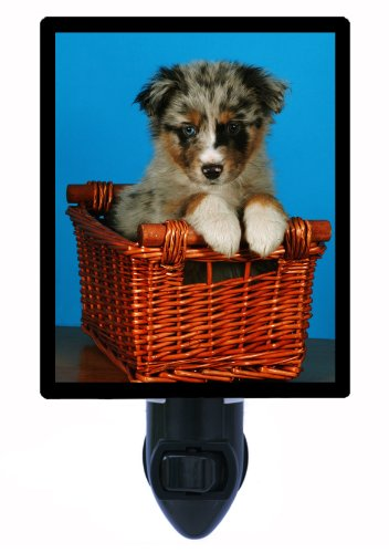 Dog Night Light - Australian Shepherd - Led Night Light