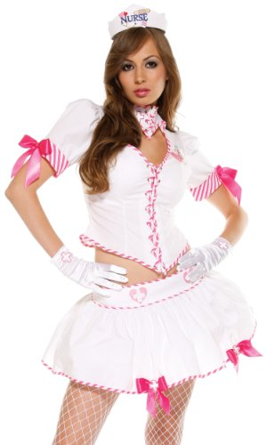 Forplay Women's Nurse Eye Candy Adult Sized Costumes