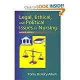img - for Legal Ethical and Political Issues in Nursing 2nd (second) Edition byAiken book / textbook / text book