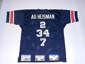 NEWTON, JACKSON, SULLIVAN autographed signed Auburn Heisman Jersey GTSM HOLO COA -... by Sports+Memorabilia