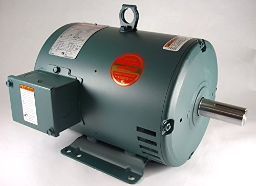 3Hp 1760Rpm 182T Frame 208-230/460 Volts Open Drip Leeson Electric Motor # 131519
