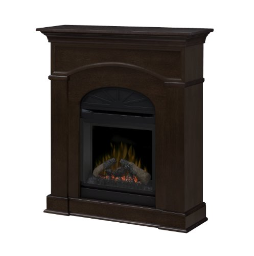 Dimplex Dfp20-1334Ma Bronte 44.2-Inch Tall By 39.8-Inch Wide Electric Fireplace Mantel, Mocha