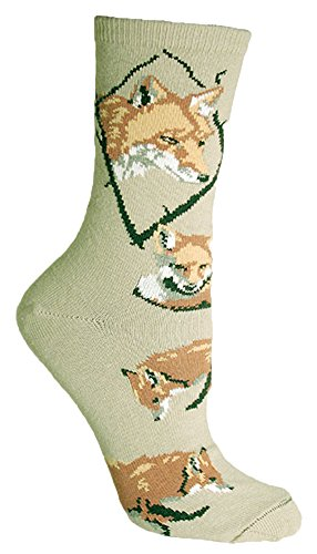 Wild Ferret Stone Novelty Adult Socks by Wheel House Designs USA Made