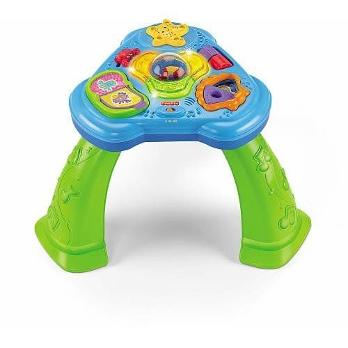 Fisher Price Ocean Wonders Deep Sea Friend Sights Sounds Activity Table front-10642