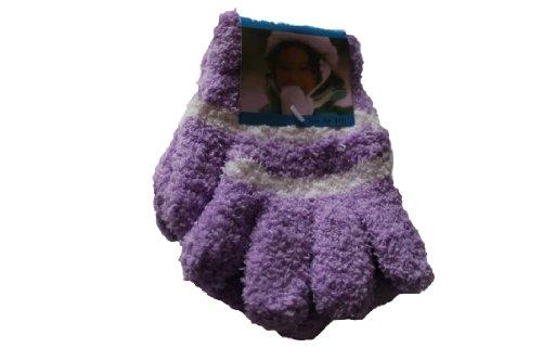 Girls Luxury Cosy-Feel Soft Gloves(PURPLE))