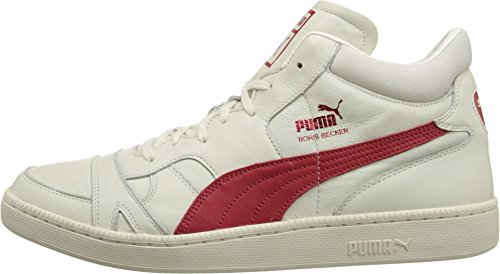 PUMA Sport Fashion Men's Becker Leather Whisper White Sneaker 7.5 D (M)
