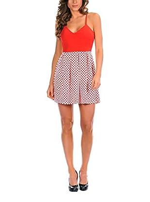 La Bohème Vestido Adeline (Rojo)