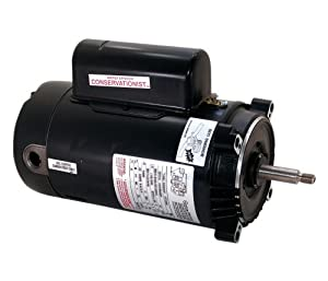1.5 hp 3450/1725rpm 56J Frame 230 Volts 2 Speed Swimming Pool Pump Motor - AO Smith Electric Motor