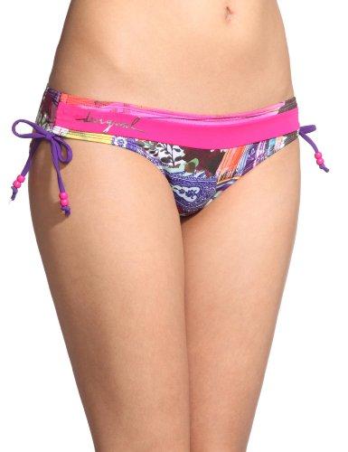 Desigual Damen Bikini Hose 21M6020, Gr. 38 (40), Rot (Fucsia)