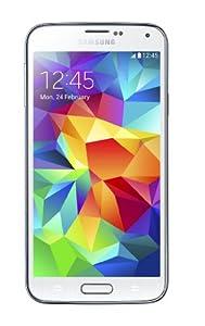 Samsung Galaxy S5 SIM-Free Smartphone, SM-G900F - White