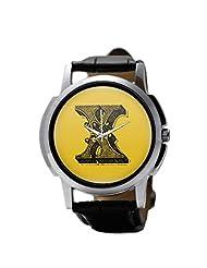 PosterGuy Alphabet X Typography Men's Wrist Watches