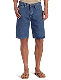 Lee Men\'s Premium Denim Shorts (38, Pepper Stone)