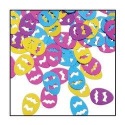 Fanci-Fetti Easter Eggs (C/GD/LB/PL) Party Accessory  (1 count) (1 Oz/Pkg) - 1