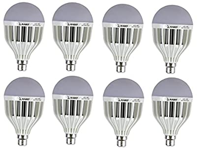 High Power 18W LED Bulb (Pack of 8)