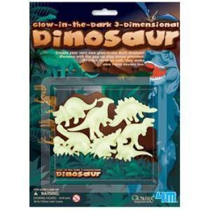 Imagen de Toysmith 3D Glow in the Dinosaurs Toys Oscuro