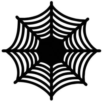 Spiderweb Die Cut Charger