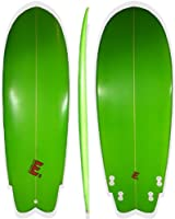 "Ellington High Performance Surfboard 5'4""x21""x2.5"" Funboard by Ellington Surfboards"