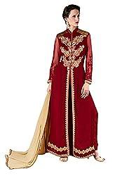 Surbhi Fashion-SDVI-SHEEBA10717-Designer Semi Stitched Dress Material