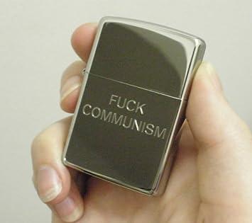 F*ck Communism Zippo Lighter - Comic Preacher & Y by Garth Ennis and Steve Dillon