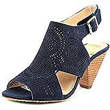 Vince Camuto Women's Ellezi Ankle-High Leather Sandal