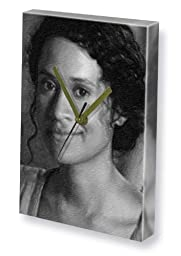 ANGEL COULBY - Canvas Clock (LARGE A3 - Signed by the Artist) #js001