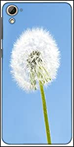 Snoogg Dandelion In The Wind Designer Protective Back Case Cover For HTC Desire 826