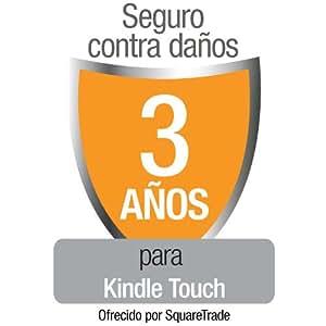 Seguro contra daños de SquareTrade para Kindle Touch, para clientes residentes en España