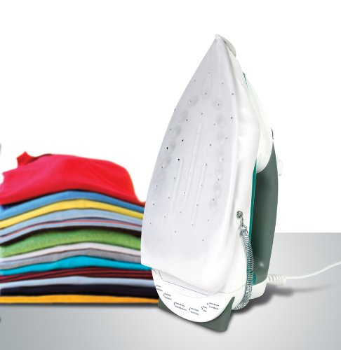 Silicone Iron Cover Protects Fabrics From Scorch and Shine. Enables Ironing Delicate Fabrics. Provides Easy Movement Oven Snaps, Pins, Buttons. Allows for High Heat. Brand: Perfect Life Ideas (Steam Silicon compare prices)