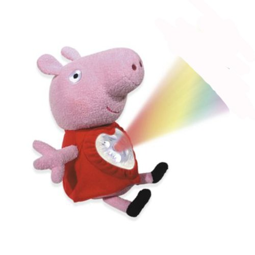 Peppa Pig Lullaby Peppa Peluche con Luz