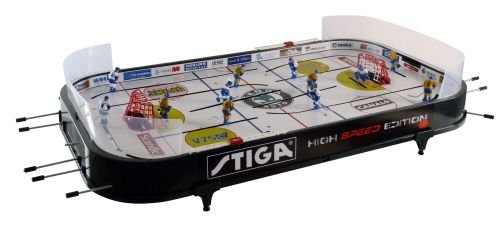 Stiga High Speed - Juego de hockey de mesa (90 x 50 x 8 cm), color negro
