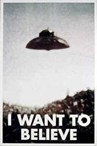 I Want to Believe Poster  X Files I Want To Believe Poster