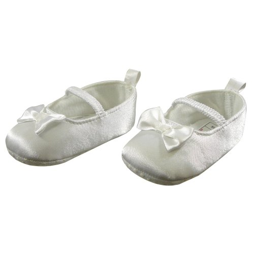 Pretty Bow Detail Ballet Shoes by Nursery Time