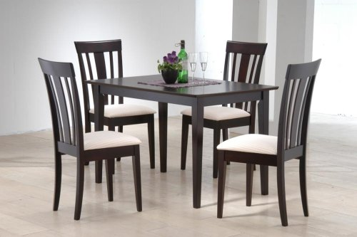 Apollo 5 Piece Dinette Set - Cappuccino