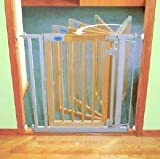 Auto Close Gate Wooden Narrow
