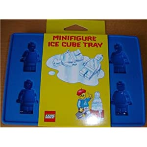 LEGO party supplies: LEGO minifigure ice-cube tray. Can be used for JELLO as well as ice