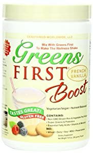 Greens First Boost, French Vanilla, 10.5-Ounce