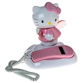 Hello Kitty Light-Up Corded Telephone