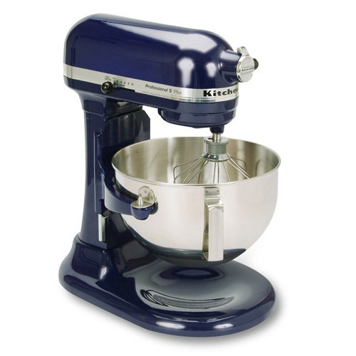 KitchenAid KV25GOXBU Professional 5 Plus 5-Quart Bowl Lift Stand Mixer, Cobalt Blue
